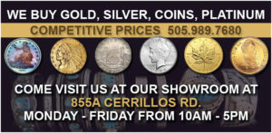 Visit Premier Precious Metals at our Store in Santa Fe