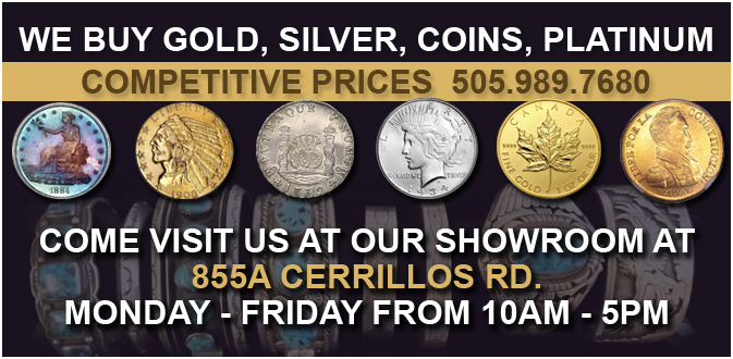 Visit Premier Precious Metals at our Store in Santa Fe
